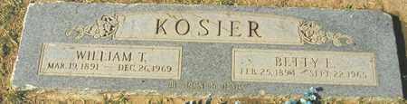 KOSIER, BETTY L. - Maricopa County, Arizona | BETTY L. KOSIER - Arizona Gravestone Photos