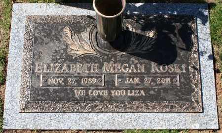 "KOSKI, ELIZABETH MEGAN ""LIZA"" - Maricopa County, Arizona   ELIZABETH MEGAN ""LIZA"" KOSKI - Arizona Gravestone Photos"