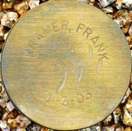 KRAMER, FRANK - Maricopa County, Arizona | FRANK KRAMER - Arizona Gravestone Photos
