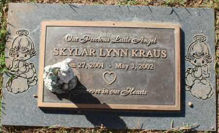 KRAUS, SKYLAR LYNN - Maricopa County, Arizona | SKYLAR LYNN KRAUS - Arizona Gravestone Photos