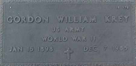 KREY, GORDON WILLIAM - Maricopa County, Arizona | GORDON WILLIAM KREY - Arizona Gravestone Photos