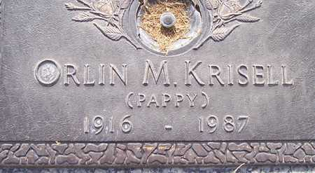KRISELL, ORLIN M. (PAPPY) - Maricopa County, Arizona | ORLIN M. (PAPPY) KRISELL - Arizona Gravestone Photos