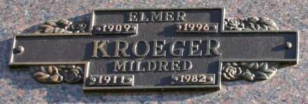 KROEGER, MILDRED - Maricopa County, Arizona | MILDRED KROEGER - Arizona Gravestone Photos