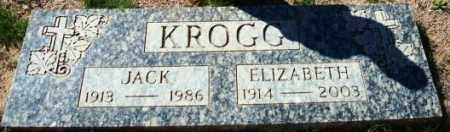 KROGG, ELIZABETH - Maricopa County, Arizona | ELIZABETH KROGG - Arizona Gravestone Photos