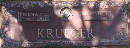 KRUEGER, HILMAR C. - Maricopa County, Arizona | HILMAR C. KRUEGER - Arizona Gravestone Photos
