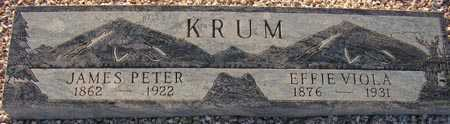 KRUM, JAMES PETER - Maricopa County, Arizona | JAMES PETER KRUM - Arizona Gravestone Photos