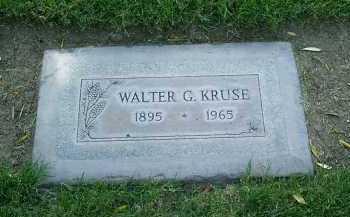 KRUSE, WALTER GEORGE - Maricopa County, Arizona | WALTER GEORGE KRUSE - Arizona Gravestone Photos