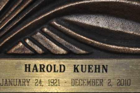 KUEHN, HAROLD - Maricopa County, Arizona   HAROLD KUEHN - Arizona Gravestone Photos