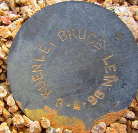 KUENLE, BRUCE LEIN - Maricopa County, Arizona | BRUCE LEIN KUENLE - Arizona Gravestone Photos