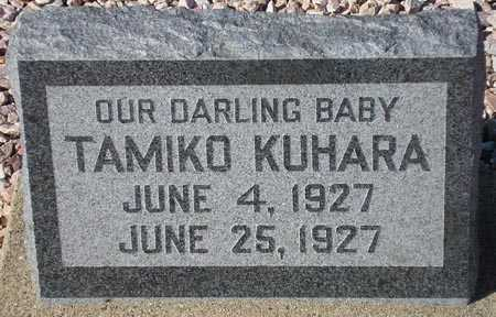 KUHARA, TAMIKO - Maricopa County, Arizona | TAMIKO KUHARA - Arizona Gravestone Photos