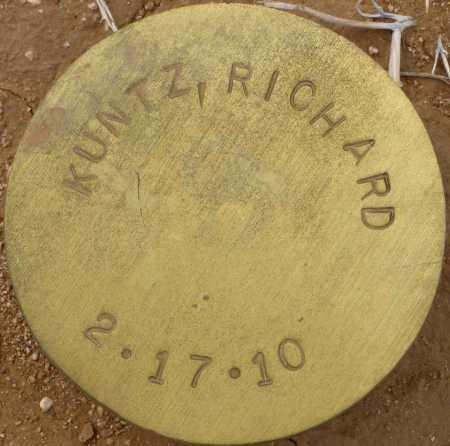 KUNTZ, RICHARD - Maricopa County, Arizona | RICHARD KUNTZ - Arizona Gravestone Photos