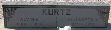 KURTZ, ALVIN A. - Maricopa County, Arizona   ALVIN A. KURTZ - Arizona Gravestone Photos