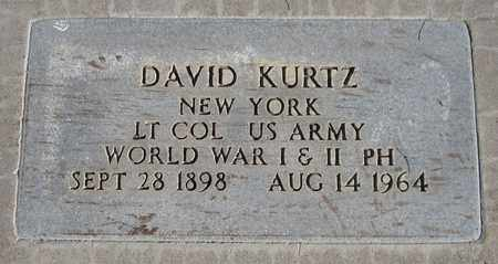 KURTZ, DAVID - Maricopa County, Arizona | DAVID KURTZ - Arizona Gravestone Photos