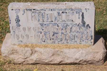 KUTHE, GEORGE W. - Maricopa County, Arizona | GEORGE W. KUTHE - Arizona Gravestone Photos