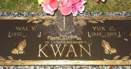 KWAN, YUK C. - Maricopa County, Arizona | YUK C. KWAN - Arizona Gravestone Photos