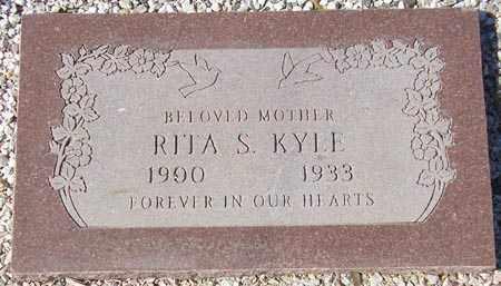 KYLE, RITA S. - Maricopa County, Arizona | RITA S. KYLE - Arizona Gravestone Photos