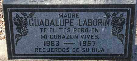 LABORIN, GUADALUPE - Maricopa County, Arizona | GUADALUPE LABORIN - Arizona Gravestone Photos