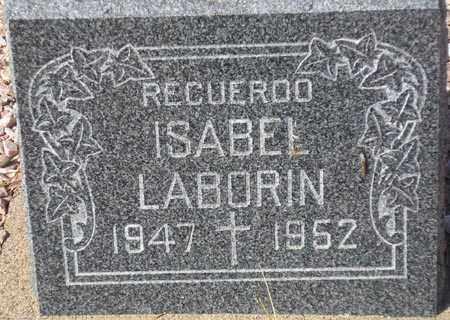 LABORIN, ISABEL - Maricopa County, Arizona | ISABEL LABORIN - Arizona Gravestone Photos