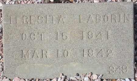 LABORIN, TERESITA - Maricopa County, Arizona | TERESITA LABORIN - Arizona Gravestone Photos