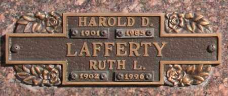 LAFFERTY, HAROLD D - Maricopa County, Arizona | HAROLD D LAFFERTY - Arizona Gravestone Photos