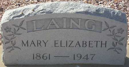 LAING, MARY ELIZABETH - Maricopa County, Arizona | MARY ELIZABETH LAING - Arizona Gravestone Photos