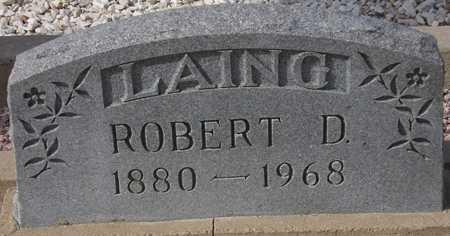 LAING, ROBERT D. - Maricopa County, Arizona | ROBERT D. LAING - Arizona Gravestone Photos