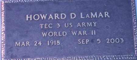 LAMAR, HOWARD D. - Maricopa County, Arizona | HOWARD D. LAMAR - Arizona Gravestone Photos
