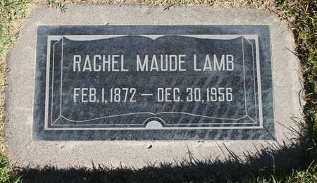 LAMB, RACHEL MAUDE - Maricopa County, Arizona | RACHEL MAUDE LAMB - Arizona Gravestone Photos