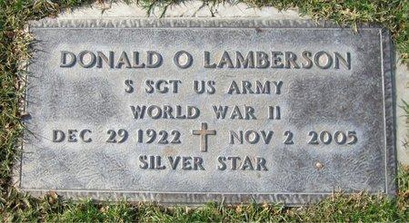 LAMBERSON, DONALD - Maricopa County, Arizona   DONALD LAMBERSON - Arizona Gravestone Photos