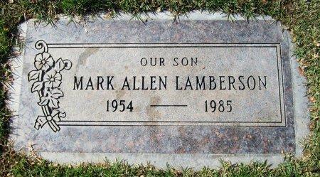 LAMBERSON, MARK  ALLEN - Maricopa County, Arizona   MARK  ALLEN LAMBERSON - Arizona Gravestone Photos