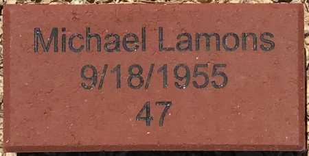 LAMONS, MICHAEL - Maricopa County, Arizona | MICHAEL LAMONS - Arizona Gravestone Photos