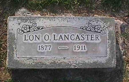 LANCASTER, LON O. - Maricopa County, Arizona | LON O. LANCASTER - Arizona Gravestone Photos