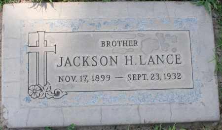 LANCE, JACKSON H. - Maricopa County, Arizona | JACKSON H. LANCE - Arizona Gravestone Photos
