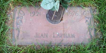 LAPHAM, JEAN - Maricopa County, Arizona | JEAN LAPHAM - Arizona Gravestone Photos