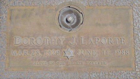 LAPORTE, DOROTHY J. - Maricopa County, Arizona | DOROTHY J. LAPORTE - Arizona Gravestone Photos