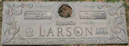 LARSON, AUGUST S. - Maricopa County, Arizona | AUGUST S. LARSON - Arizona Gravestone Photos