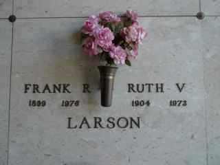 LARSON, RUTH - Maricopa County, Arizona | RUTH LARSON - Arizona Gravestone Photos