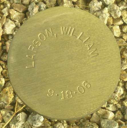 LARSON, WILLIAM - Maricopa County, Arizona | WILLIAM LARSON - Arizona Gravestone Photos