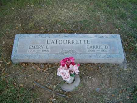LATOURRETTE, CARRIE D. - Maricopa County, Arizona | CARRIE D. LATOURRETTE - Arizona Gravestone Photos
