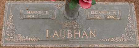 LAUBHAN, ELIZABETH W - Maricopa County, Arizona   ELIZABETH W LAUBHAN - Arizona Gravestone Photos