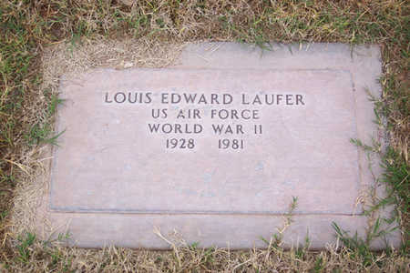 LAUFER, LOUIS EDWARD - Maricopa County, Arizona | LOUIS EDWARD LAUFER - Arizona Gravestone Photos