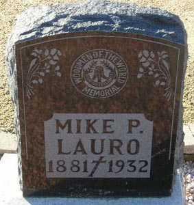 LAURO, MIKE P. - Maricopa County, Arizona | MIKE P. LAURO - Arizona Gravestone Photos