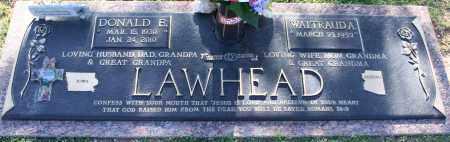 LAWHEAD, DONALD E - Maricopa County, Arizona | DONALD E LAWHEAD - Arizona Gravestone Photos