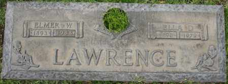 LAWRENCE, ELLA D - Maricopa County, Arizona | ELLA D LAWRENCE - Arizona Gravestone Photos