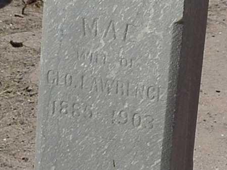 LAWRENCE, MAE - Maricopa County, Arizona | MAE LAWRENCE - Arizona Gravestone Photos