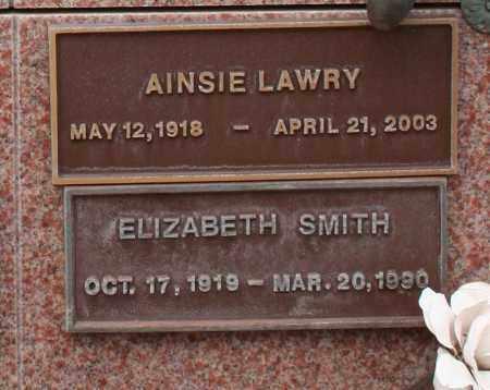 LAWRY, AINSIE - Maricopa County, Arizona | AINSIE LAWRY - Arizona Gravestone Photos