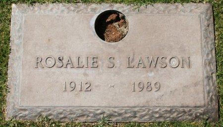 LAWSON, ROSALIE S - Maricopa County, Arizona   ROSALIE S LAWSON - Arizona Gravestone Photos