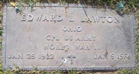 LAWTON, EDWARD L. - Maricopa County, Arizona | EDWARD L. LAWTON - Arizona Gravestone Photos