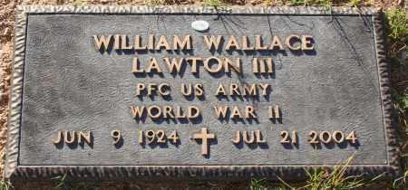 LAWTON, WILLIAM WALLACE III - Maricopa County, Arizona   WILLIAM WALLACE III LAWTON - Arizona Gravestone Photos