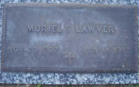 LAWVER, MURIEL S. - Maricopa County, Arizona | MURIEL S. LAWVER - Arizona Gravestone Photos